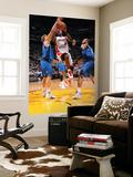 Dallas Mavericks v Miami Heat - Game One, Miami, FL - MAY 31: LeBron James, Dirk Nowitzki and Tyson Poster by Andrew Bernstein