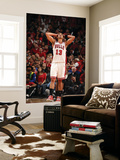 Miami Heat v Chicago Bulls - Game Five, Chicago, IL - MAY 26: Joakim Noah Láminas por Nathaniel S. Butler