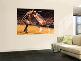 Indiana Pacers v Miami Heat: LeBron James and Josh McRoberts Prints by Victor Baldizon