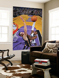 Indiana Pacers v Sacramento Kings: Jason Thompson and Josh McRoberts Posters by Rocky Widner