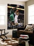 Boston Celtics v Charlotte Bobcats: Kevin Garnett and D.J. Augustin Print by  Streeter