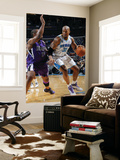 Sacramento Kings v New Orleans Hornets: David West and Carl Landry Prints by Layne Murdoch