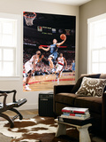 Minnesota Timberwolves v Portland Trail Blazers: Marcus Camby and Luke Ridnour Prints by Sam Forencich