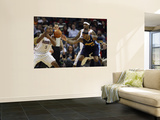 Denver Nuggets v Charlotte Bobcats: Carmelo Anthony, Dominic McGuire and Tyrus Thomas Prints by  Streeter