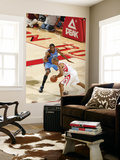 Oklahoma City Thunder v Houston Rockets: Shane Battier and Kevin Durant Prints by Bill Baptist