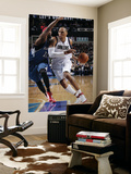 Minnesota Timberwolves v Dallas Mavericks: Shawn Marion and Corey Brewer Posters by Glenn James