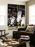 Denver Nuggets v Charlotte Bobcats: Chauncey Billups and Kwame Brown Art by  Streeter