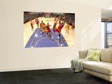 Chicago Bulls v Los Angeles Lakers: Luol Deng and Pau Gasol Posters by Andrew Bernstein