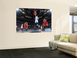 Los Angeles Clippers v Denver Nuggets: Nene Prints by Garrett Ellwood