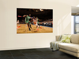 Boston Celtics v New York Knicks: Raymond Felton and Glen Davis Prints by Lou Capozzola