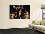 New Orleans Hornets v Los Angeles Lakers - Game Five, Los Angeles, CA - April 26: Kobe Bryant Poster