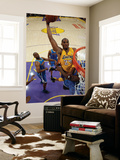New Orleans Hornets v Los Angeles Lakers - Game Five, Los Angeles, CA - April 26: Kobe Bryant and E Prints