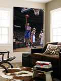 New York Knicks v Detroit Pistons: Wilson Chandler and Richard Hamilton Prints by Allen Einstein