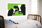 Avalisa - Green Cows - Poster