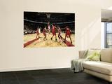 New Jersey Nets v Toronto Raptors: DeMar DeRozan Art by Ron Turenne