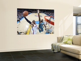 New Orleans Hornets v Oklahoma City Thunder: Russell Westbrook and Emeka Okafor Posters by Layne Murdoch
