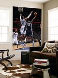 Memphis Grizzlies v Orlando Magic: Zach Randolph and Dwight Howard Poster by Fernando Medina