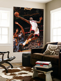 Charlotte Bobcats v Miami Heat: LeBron James Posters by Victor Baldizon