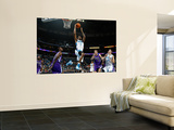 Sacramento Kings v New Orleans Hornets: Trevor Ariza and Donte Greene Prints by Chris Graythen
