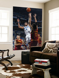 Cleveland Cavaliers v New Orleans Hornets: Marco Belinelli and Anderson Varejao Print by Layne Murdoch