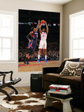 Atlanta Hawks v New York Knicks: Josh Smith and Wilson Chandler Posters by Jeyhoun Allebaugh