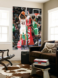 Boston Celtics v New Jersey Nets: Kris Humphries and Marquis Daniels Prints by Jeyhoun Allebaugh