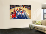 Philadelphia 76ers v New Jersey Nets: Joe Smith Prints by David Dow