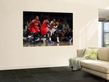 Philadelphia 76ers v Washington Wizards: John Wall and Jrue Holiday Prints by Ned Dishman