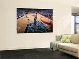 Oklahoma City Thunder v Dallas Mavericks - Game TwoDallas, TX - MAY 19: James Harden and Tyson Chan Posters by Glenn James