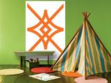 Orange Diamond Art by  Avalisa