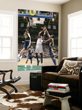 Oklahoma City Thunder v Utah Jazz: Kevin Durant, Jeremy Evans and Al Jefferson Prints by Melissa Majchrzak