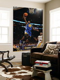 Golden State Warriors v Los Angeles Lakers: Dorell Wright and Lamar Odom Prints by Noah Graham