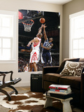 Memphis Grizzlies v Houston Rockets: O.J. Mayo and Shane Battier Prints by Bill Baptist