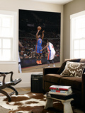 New York Knicks v Detroit Pistons: Raymond Felton and Rodney Stuckey Posters by Allen Einstein