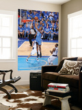 Oklahoma City Thunder v Dallas Mavericks - Game TwoDallas, TX - MAY 19: Kevin Durant, DeShawn Steve Print by Andrew Bernstein