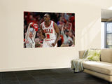 Miami Heat v Chicago Bulls - Game One, Chicago, IL - MAY 15: Luol Deng Art by Gregory Shamus