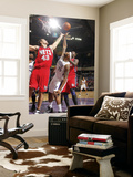 New Jersey Nets v Sacramento Kings: DeMarcus Cousins and Kris Humphries Prints by Don Smith