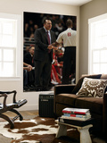 Los Angeles Lakers v Chicago Bulls: Tom Thibodeau and Sean Wright Print by  Jonathan