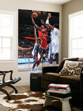 Chicago Bulls v Denver Nuggets: Luol Deng and Nene Prints by Garrett Ellwood