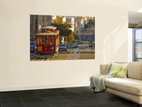 Cable Car on Powell Street in San Francisco, California, USA Print by Chuck Haney