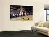 Los Angeles Lakers v Dallas Mavericks - Game Four, Dallas, TX - MAY 8: Dirk Nowitzki and Pau Gasol Print by Danny Bollinger