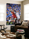 Miami Heat v Dallas Mavericks - Game Three, Dallas, TX -June 5: Shawn Marion and LeBron James Prints by Garrett Ellwood