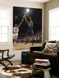 Atlanta Hawks v Detroit Pistons: Al Horford and Chris Wilcox Prints by Allen Einstein