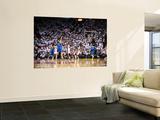 Dallas Mavericks v Miami Heat - Game Six, Miami, FL - June 12: Dirk Nowitzki and Chris Bosh Posters by Garrett Ellwood