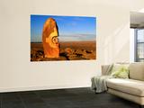 Bajo El Sol Jaguar' Sculpture on Sundown Hill, Living Desert Reserve Posters by Ross Barnett