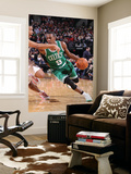 Boston Celtics v Portland Trail Blazers, Portland, OR - January 27: Andre Miller and Rajon Rondo Prints by Sam Forencich