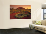 Ayers Rock, Northern Territory, Australia Print by Doug Pearson