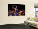 Milwaukee Bucks v New York Knicks, New York, NY - February 23: Carmelo Anthony and Andrew Bogut Prints by Chris Trotman