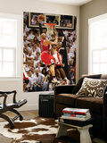 Chicago Bulls v Miami Heat - Game ThreeMiami, FL - MAY 22: Carlos Boozer and LeBron James Art by Marc Serota