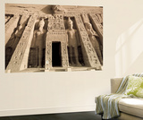Egypt, Abu Simbel, Temple of Nefertari and Hathor Prints by Michele Falzone